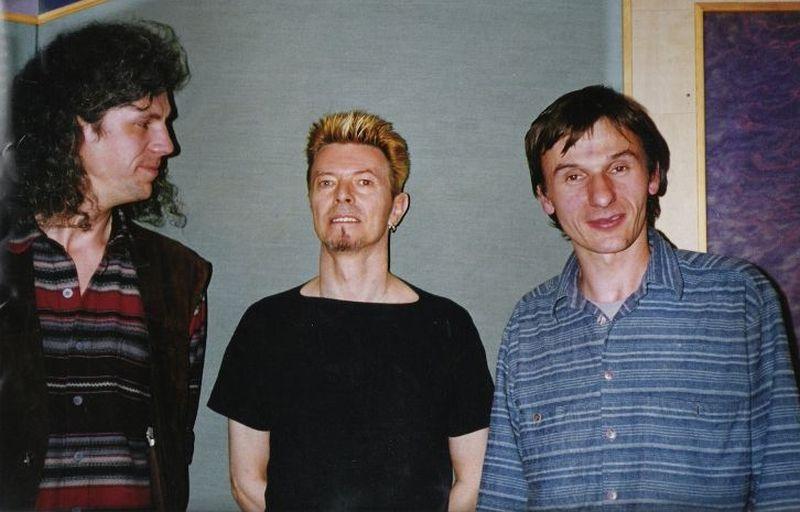 Milan Cimfe, David Bowie, Pavel Karlik